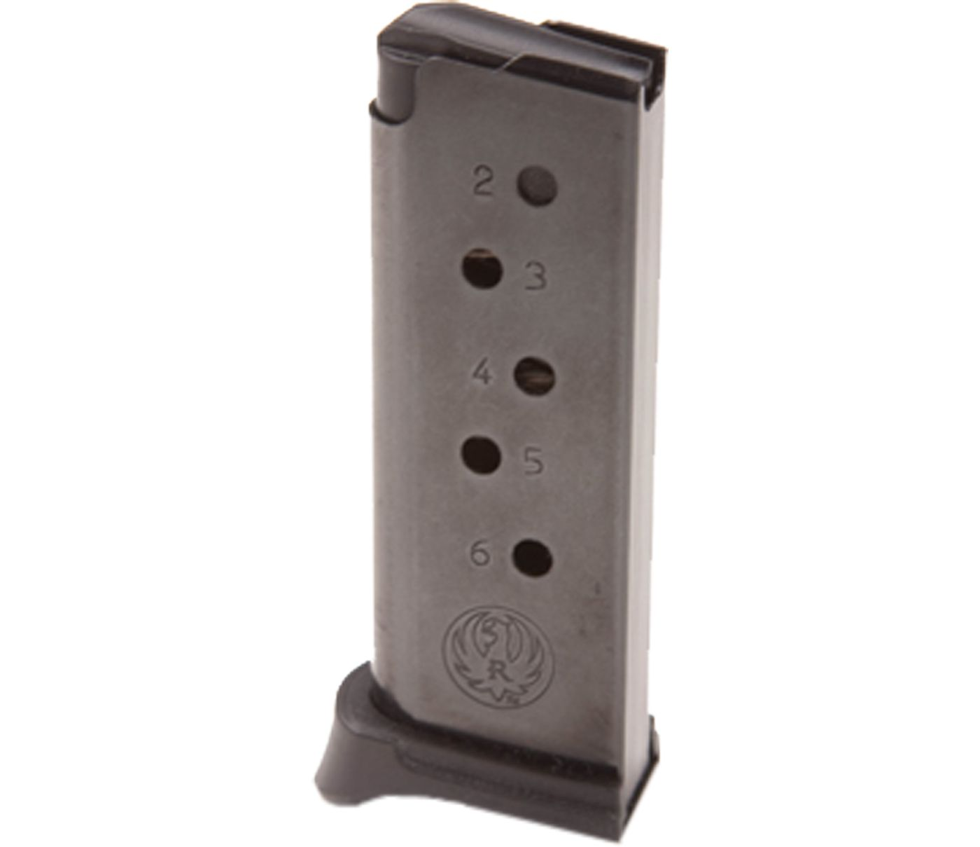 Ruger LCP .380 ACP Blue Steel Magazine w/ Finger Rest – 6 Rounds