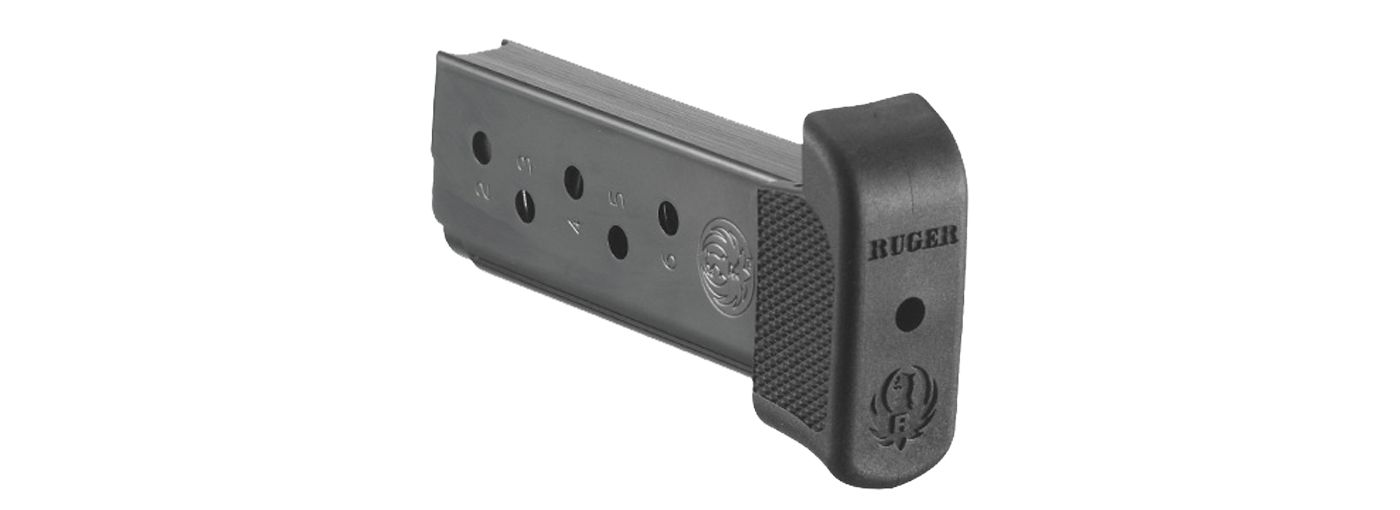 Ruger LC9 .380 ACP Blue Steel Magazine w/ Finger Rest – 7 Rounds