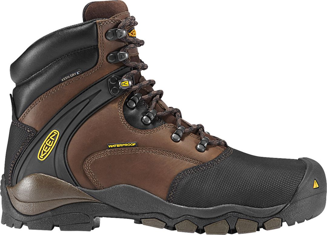 bf18c9b667f KEEN Men's Louisville 6'' Waterproof Steel Toe Work Boots