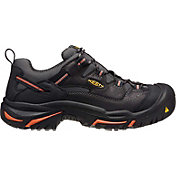 KEEN Men's Braddock Low Steel Toe Work Shoes