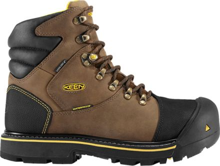 bf4ca651ac KEEN Men's Milwaukee Waterproof Steel Toe Work Boots
