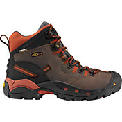 KEEN Men's Pittsburgh Mid Waterproof Work Boots