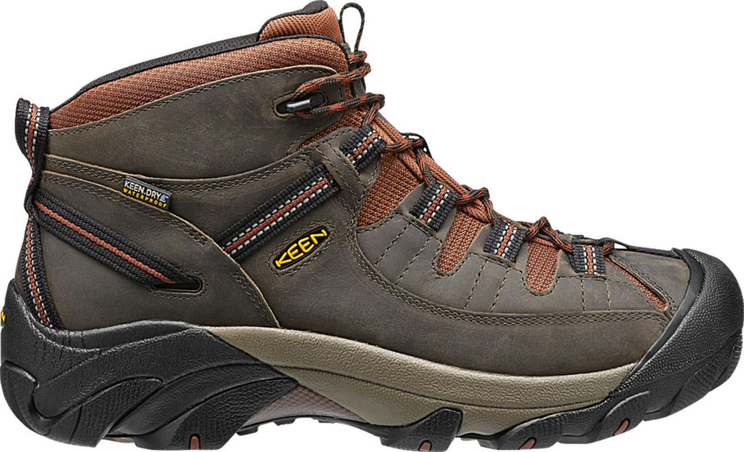 7be72845bf6 KEEN Men's Targhee II Mid Waterproof Hiking Boots
