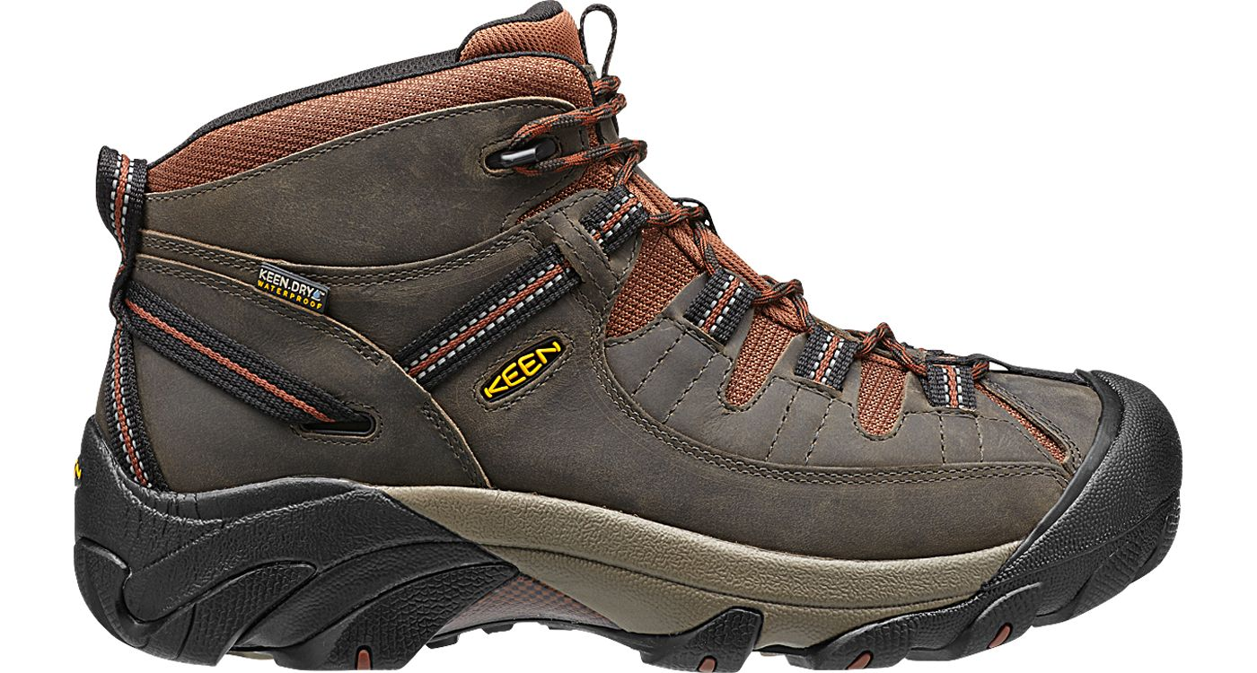 84b1fb058f5 KEEN Men's Targhee II Mid Waterproof Hiking Boots