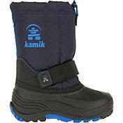 Kamik Kids' Rocket Waterproof Insulated Winter Boots