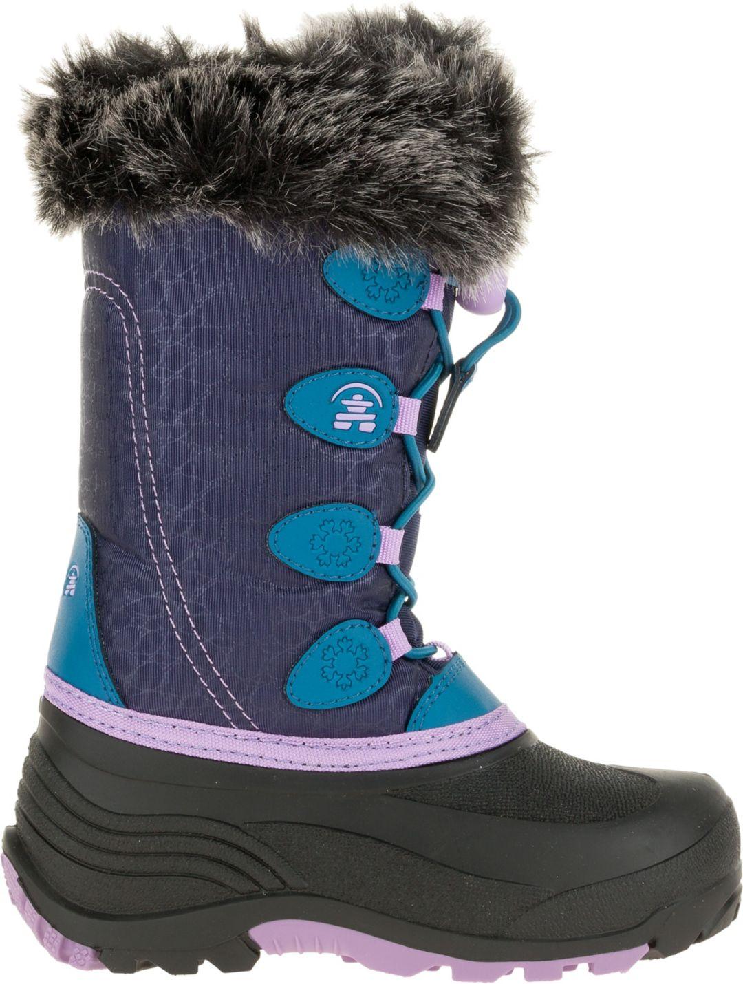20a7bdd575 Kamik Kids' Snowgypsy Waterproof Winter Boots
