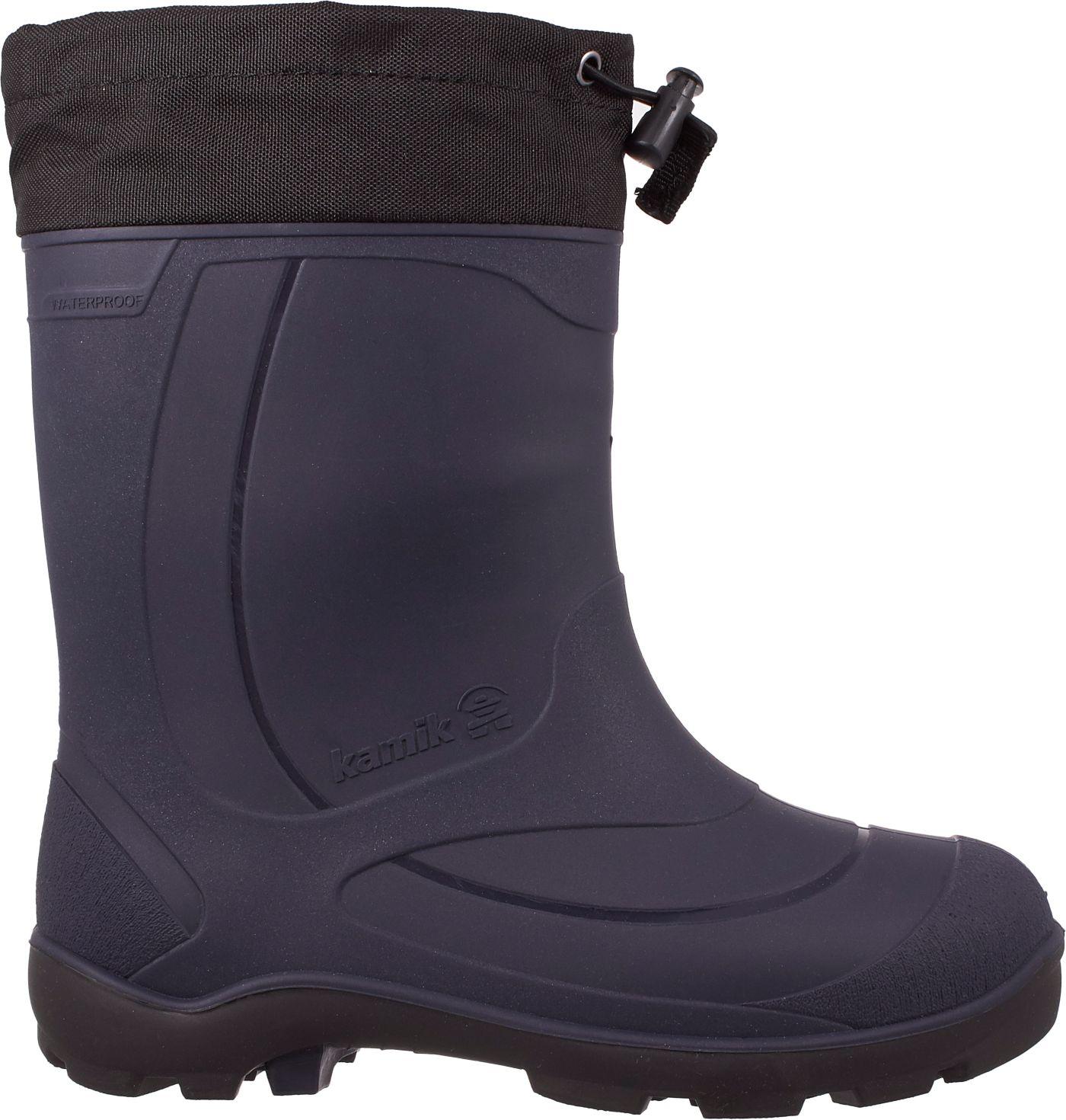 Kamik Kids' Snobuster Insulated Waterproof Winter Boots