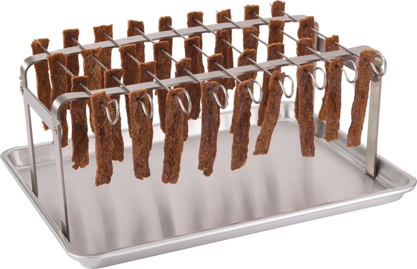 LEM Jerky Hanger with 9 Skewers and Seasoning