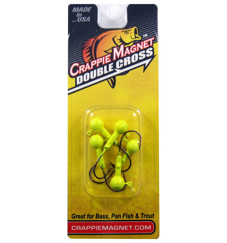 Leland's Crappie Magnet Double Cross Jig Heads