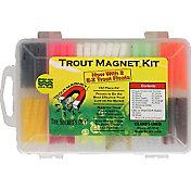 Leland Trout Magnet 152 Piece Soft Bait Kit