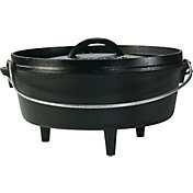 Lodge Cast Iron 4 Quart Camp Dutch Oven