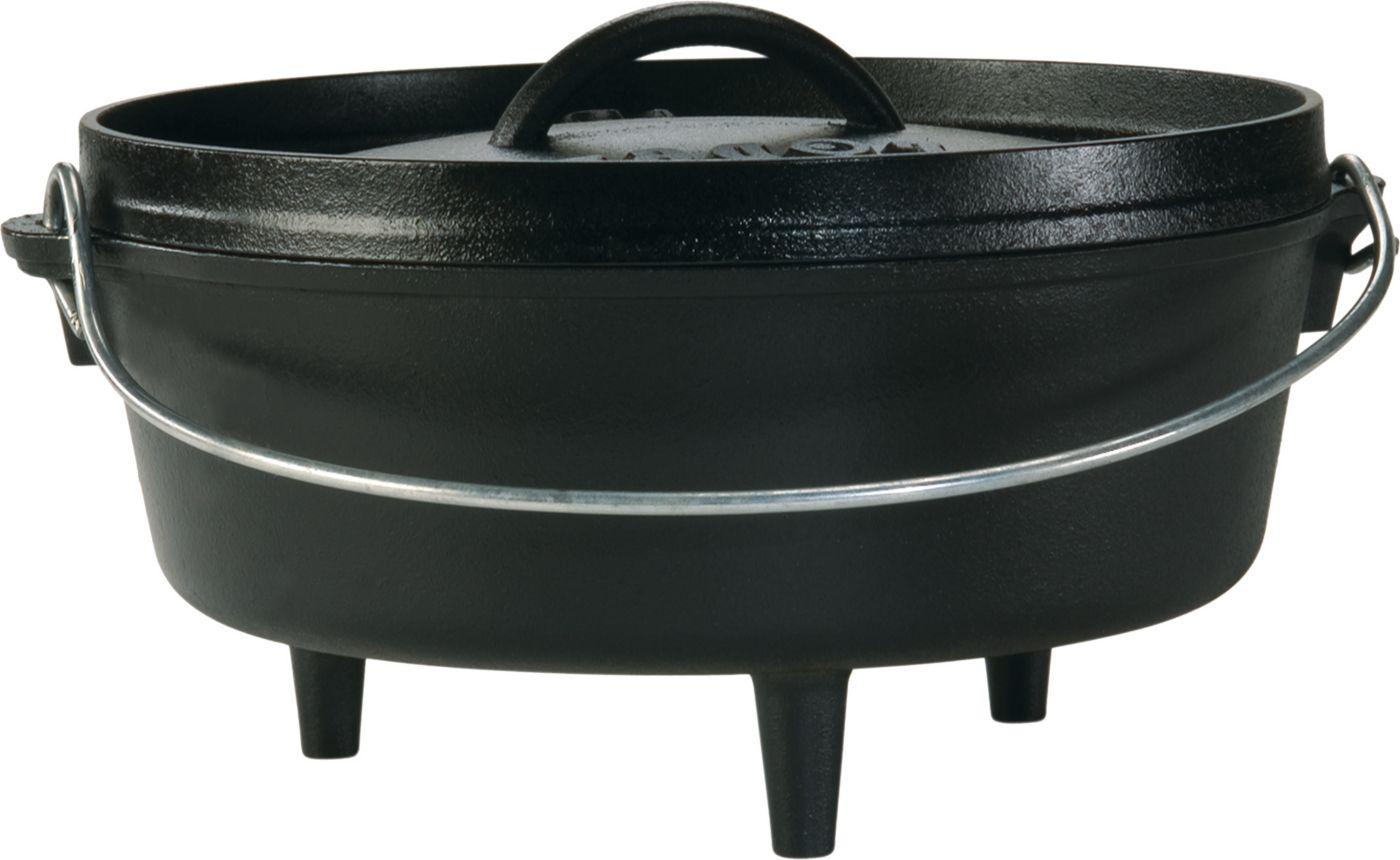 Lodge Cast Iron 4 Quart Camp Dutch Oven