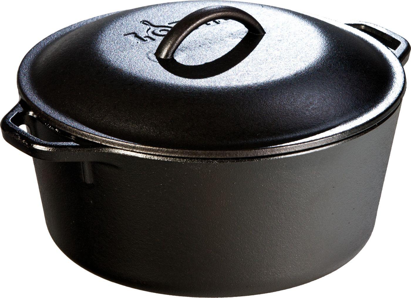 Lodge 5 Quart Cast Iron Dutch Oven