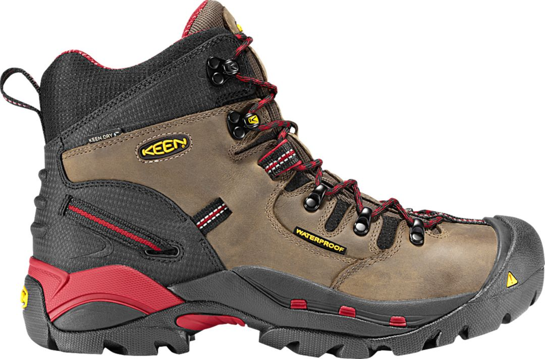 0d79eccfcca KEEN Men's Pittsburgh 6'' Waterproof Steel Toe Work Boots
