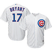 Majestic Men's Replica Chicago Cubs Kris Bryant #17 Cool Base Home White Jersey