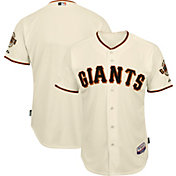 Majestic Men's Authentic San Francisco Giants Cool Base Home Ivory On-Field Jersey