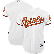 Majestic Men's Authentic Baltimore Orioles Cool Base Home White On-Field Jersey