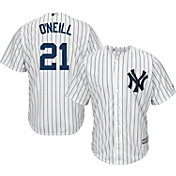 Majestic Men's Replica New York Yankees Paul O'Neill #21 Cool Base Home White Jersey
