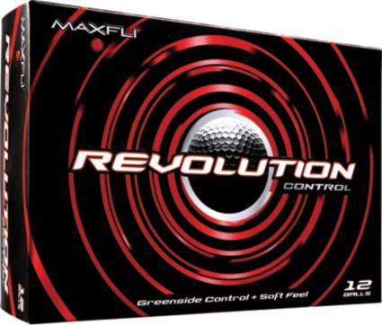Maxfli Revolution Control Personalized Golf Balls - 12 Pack