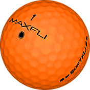 Maxfli SoftFli Orange Golf Balls