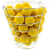 Maxfli Foam Practice Balls with Storage Basket - 42 Pack