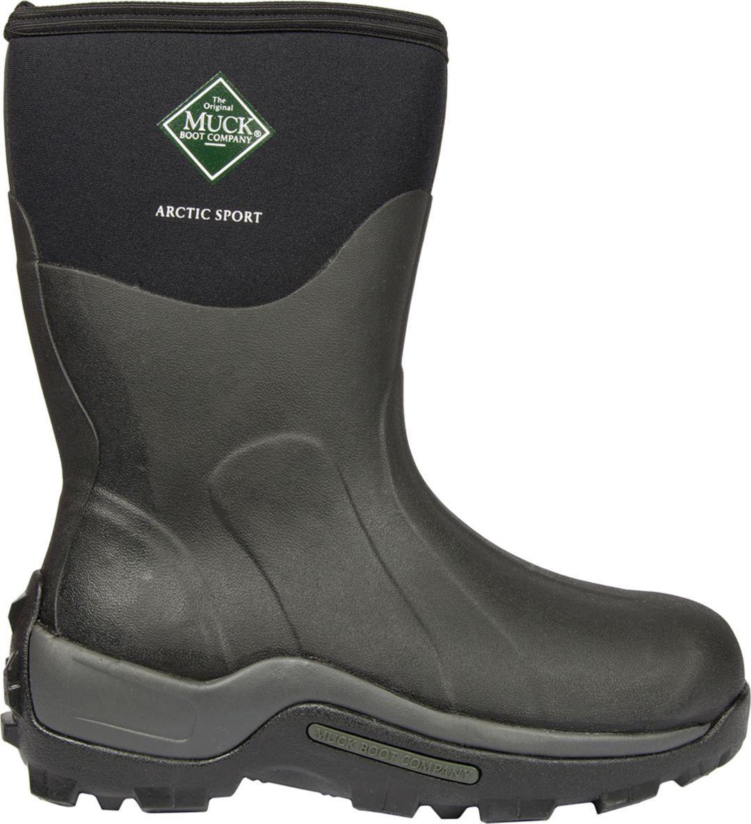 b094fca4c Muck Boots Men's Arctic Sport Mid Insulated Waterproof Winter Boots ...