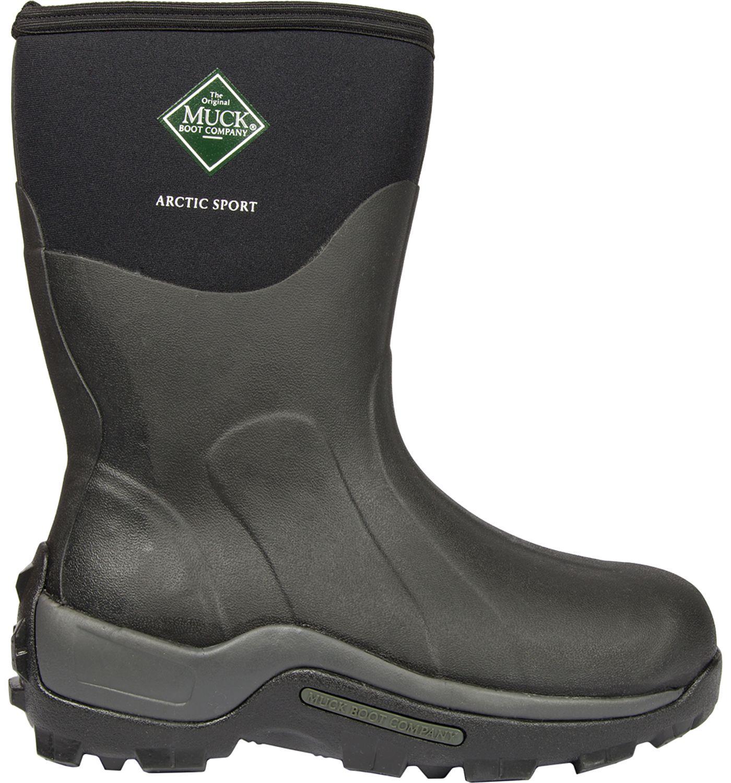 Muck Boots Men's Arctic Sport Mid Insulated Waterproof Winter Boots