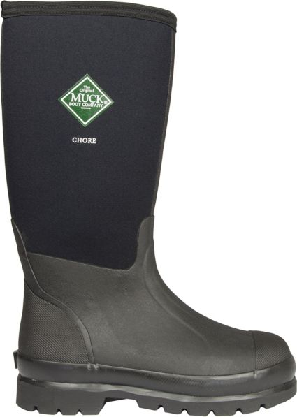 e1b13321028 Muck Boots Men's Chore Waterproof Steel Toe Work Boots