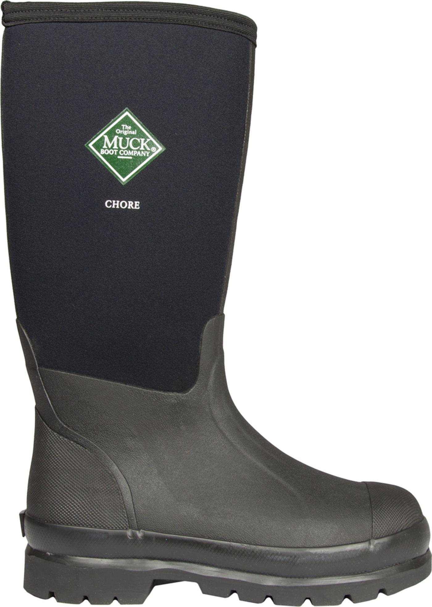 Muck Boots Men's Chore Waterproof Steel Toe Work Boots