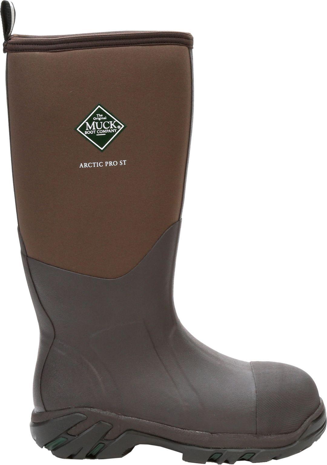 2831b52c52a Muck Boots Men's Arctic Pro Steel Toe Waterproof Work Boots