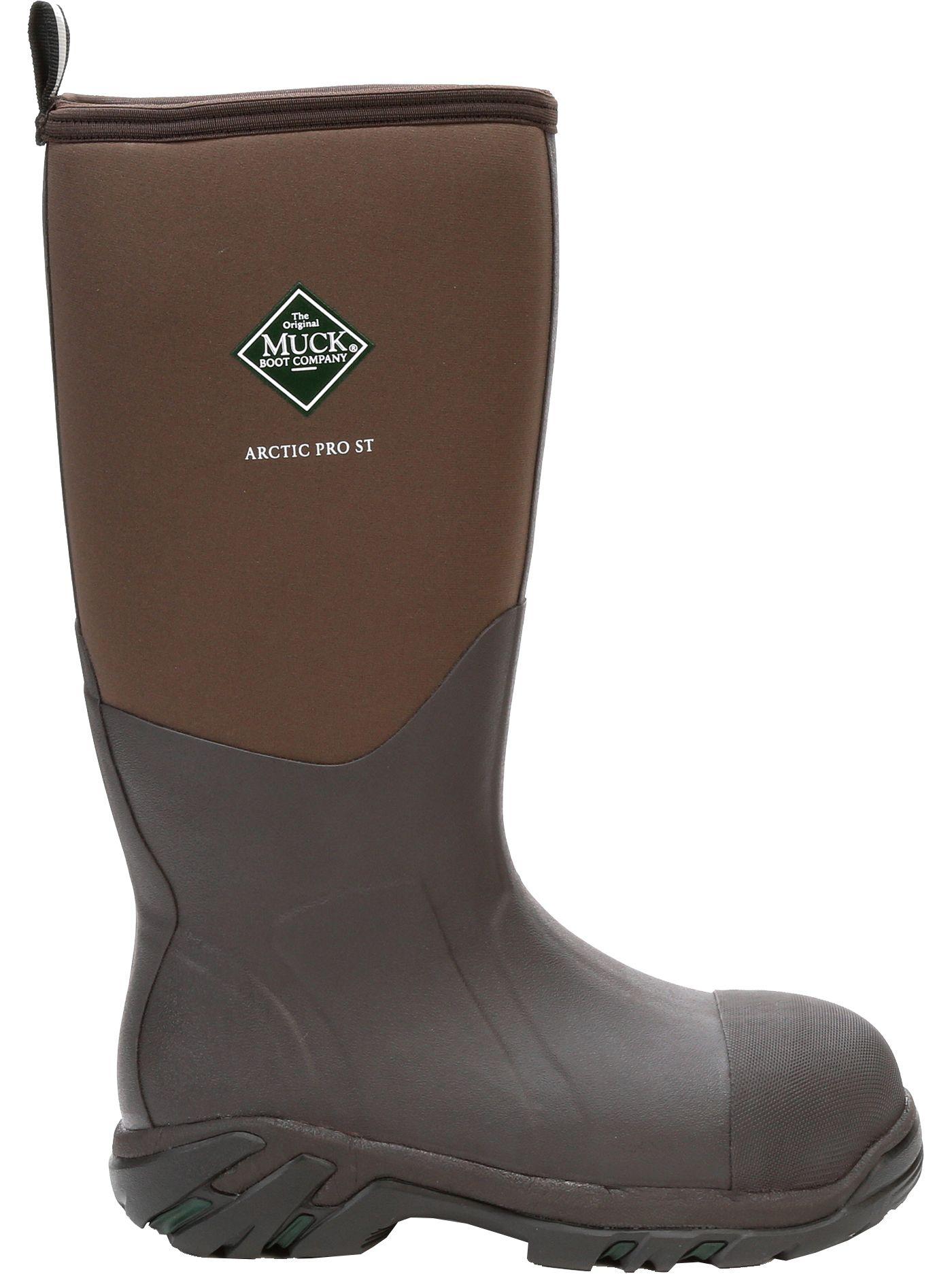 Muck Boots Men's Arctic Pro Steel Toe Waterproof Work Boots