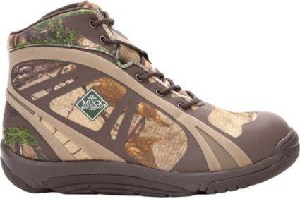 Muck Boots Men's Pursuit Shadow Rubber Hunting Boots
