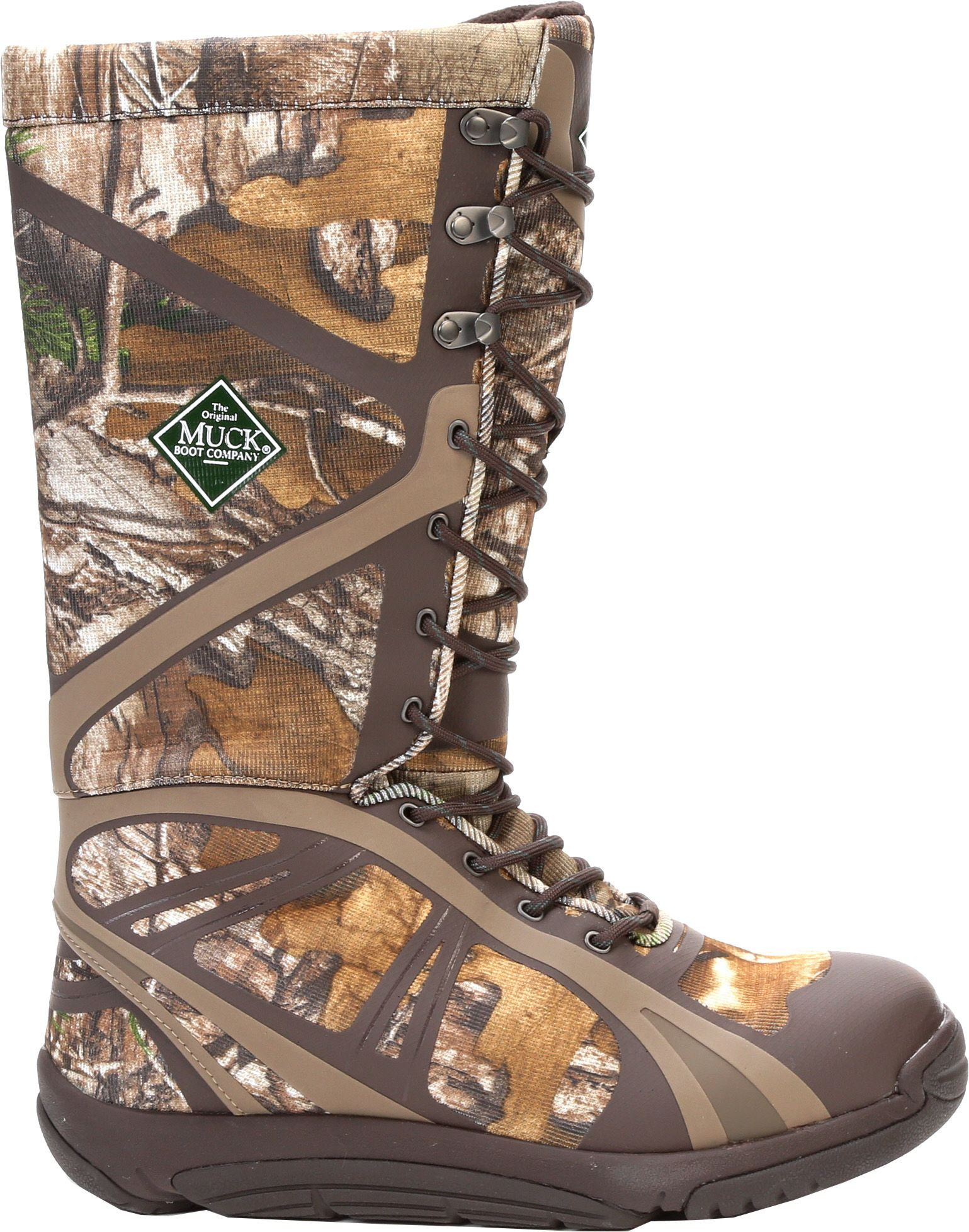 Muck Boots Men's Pursuit Shadow Tall Rubber Hunting Boots, Size: 8.0, Green thumbnail