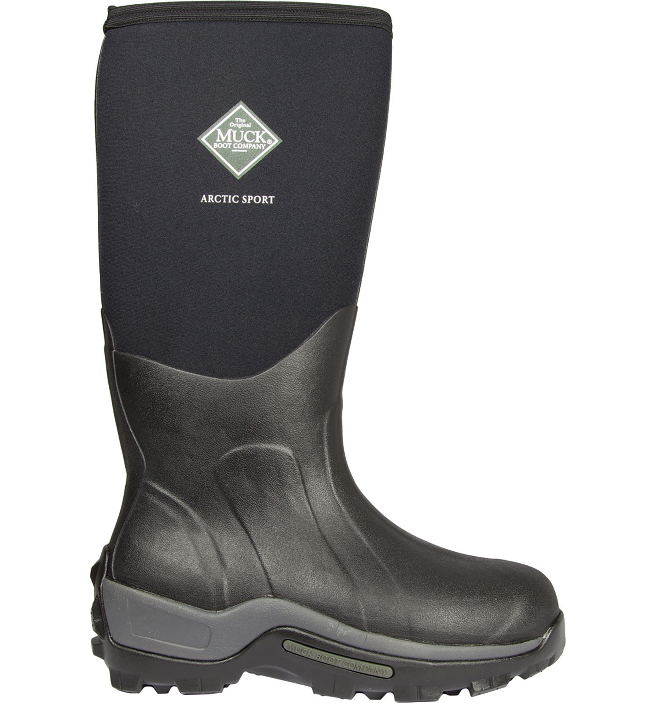 Muck Boots Men's Arctic Hi Sport Rubber Hunting Boots
