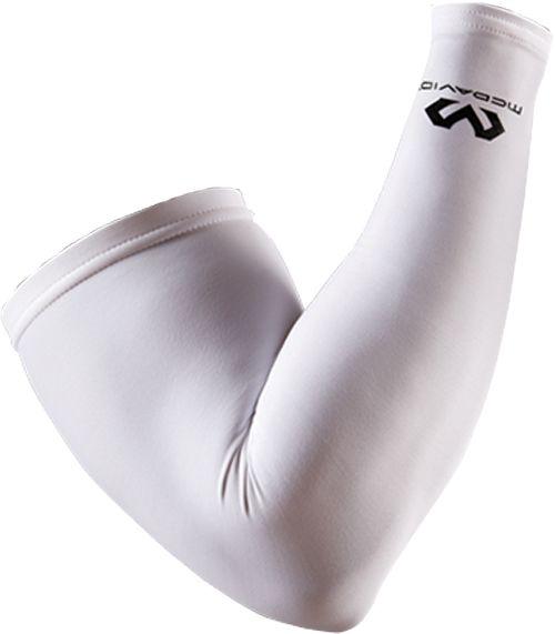 McDavid Compression Arm Sleeve, Small, White