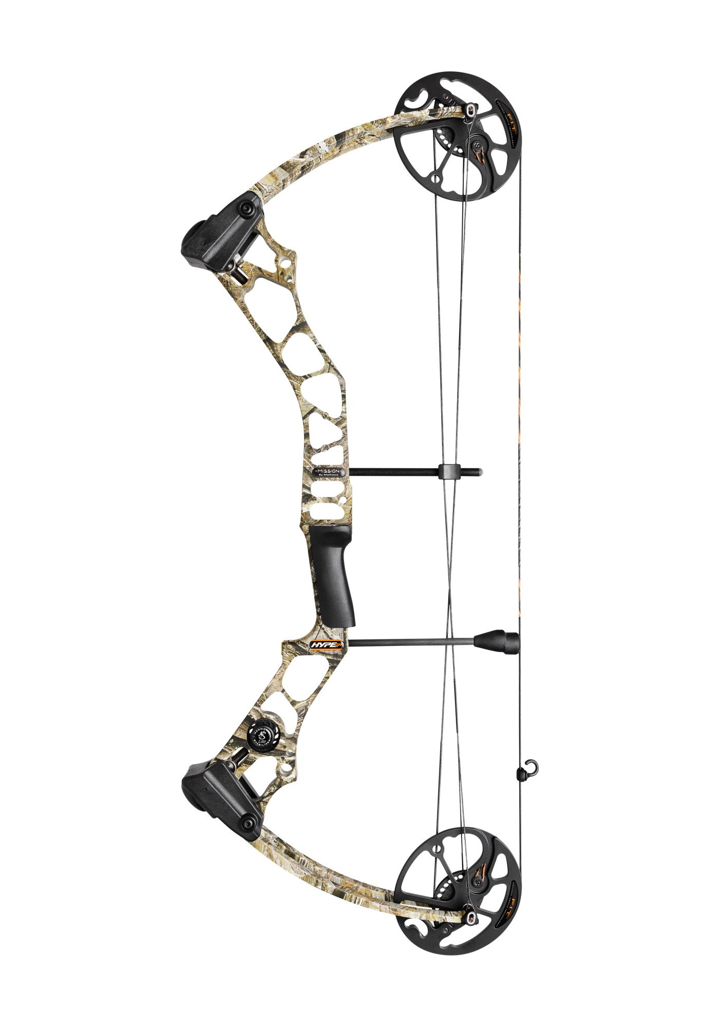 Mission Hype DT Compound Bow QAD Package