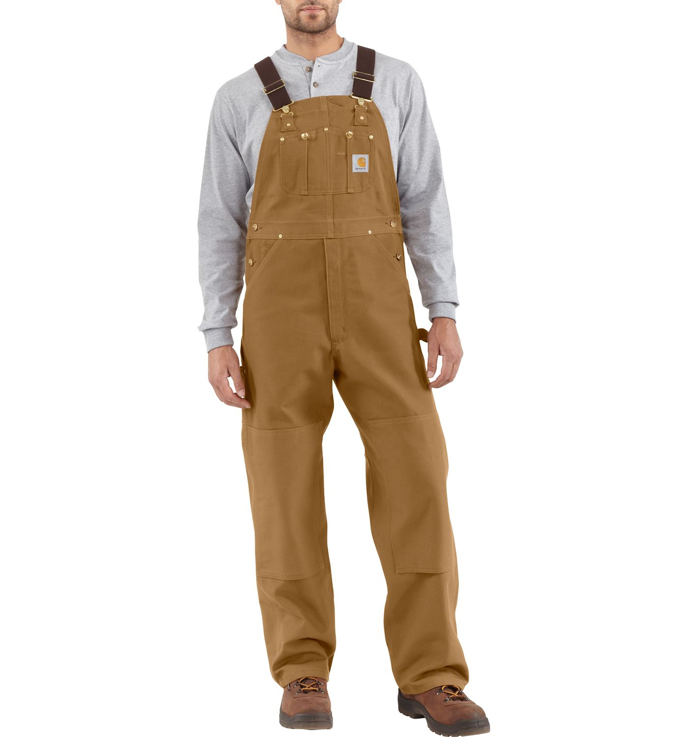 Carhartt Men's Unlined Duck Bibs