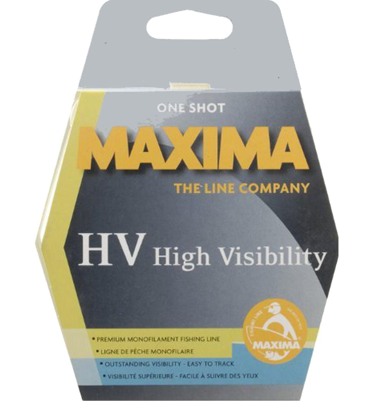 Maxima One Shot HV Monofilament Fishing Line