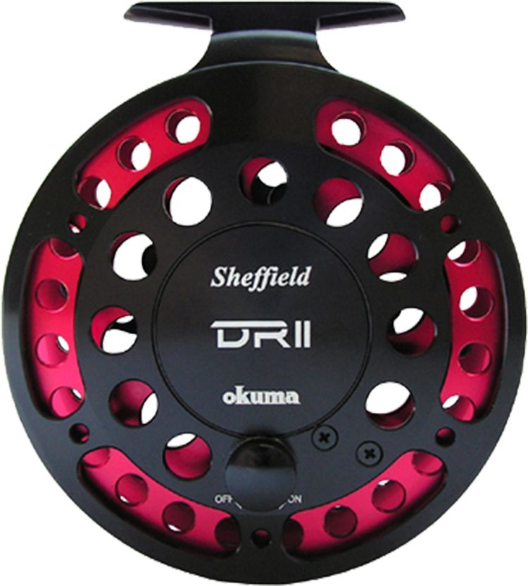Okuma Sheffield Center Pin Disk Drag Reel thumbnail