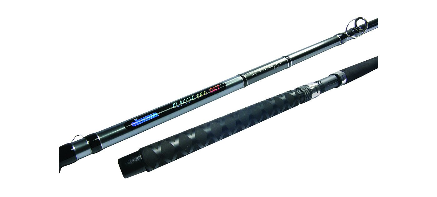 Okuma Classic Pro GLT Dipsy Diver Salmon and Striper Spinning Rod