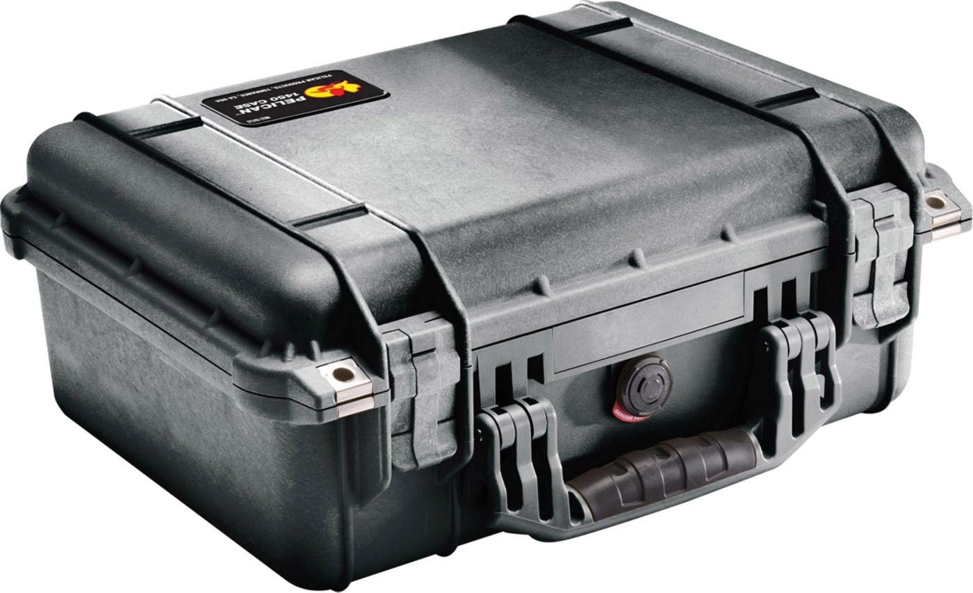 Pelican 1450 Hard Back Double Pistol Case