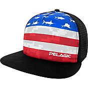 Pelagic Men's Americamo Trucker Hat