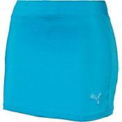PUMA Girls' Solid Knit Golf Skirt