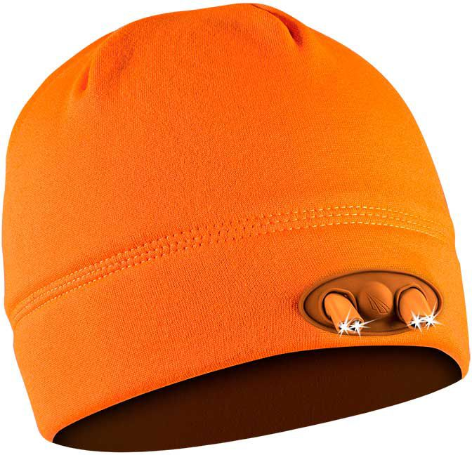 Panther Vision Men's POWERCAP LED Lighted Beanie, Orange