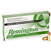 Remington UMC Full Metal Jacket Handgun Ammunition - 50 Rounds
