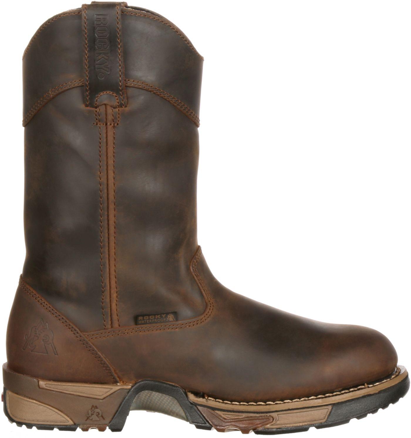 """Rocky Men's Aztec 11"""" Waterproof Work Boots"""