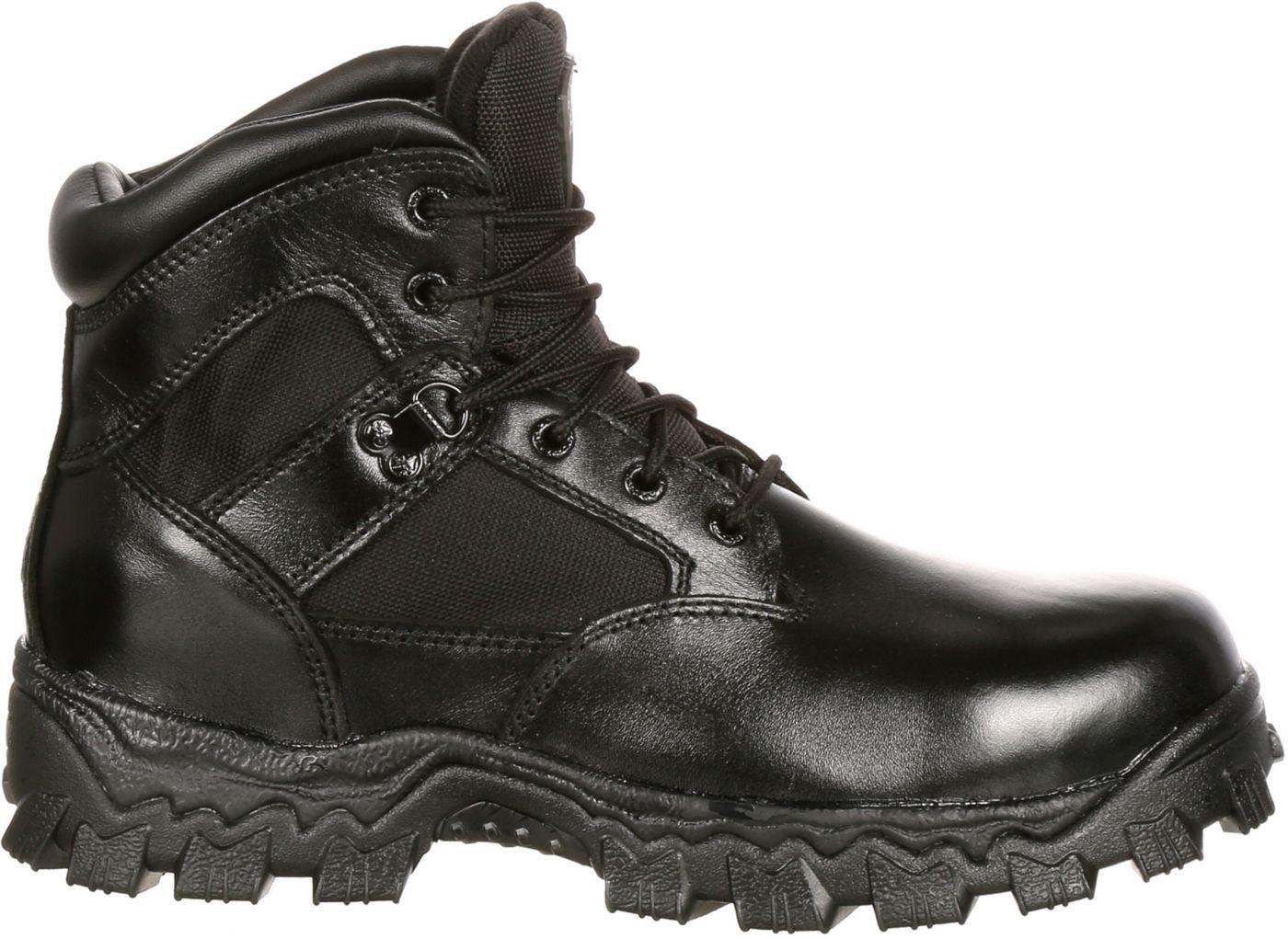 """Rocky Men's AlphaForce 6"""" Waterproof Composite Toe Work Boots"""