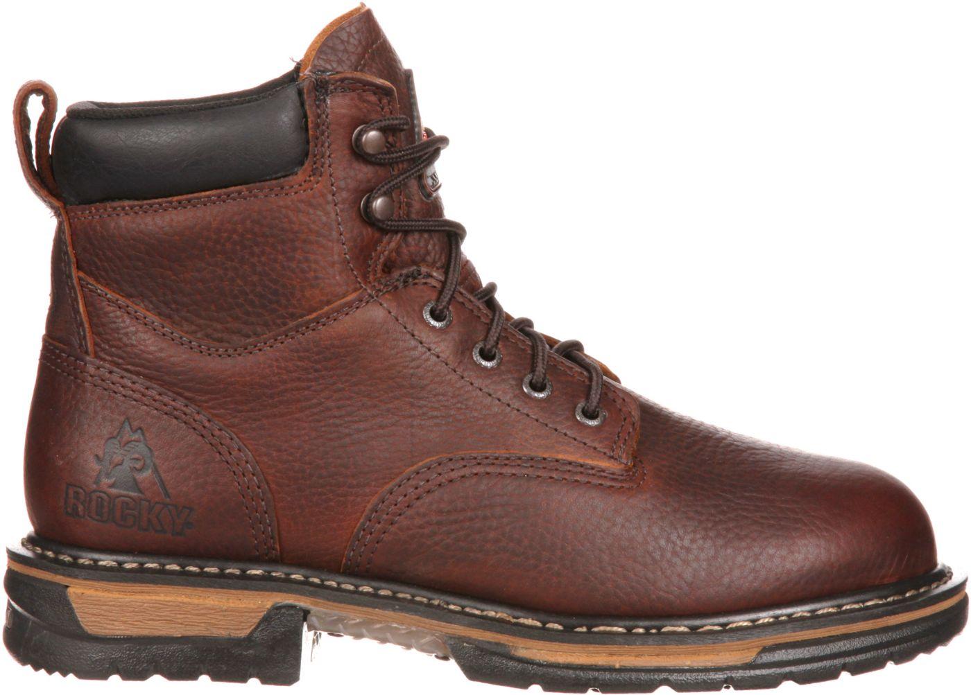 Rocky Men's IronClad 6'' Waterproof Work Boots