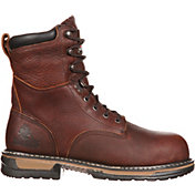 "Rocky Men's IronClad 8"" Waterproof Steel Toe Work Boots"