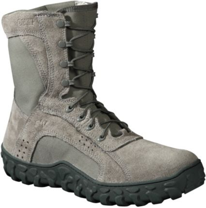 "Rocky Men s Sage Green S2V Tactical 8"" Steel Toe Work Boots  a106a9efd4ec"
